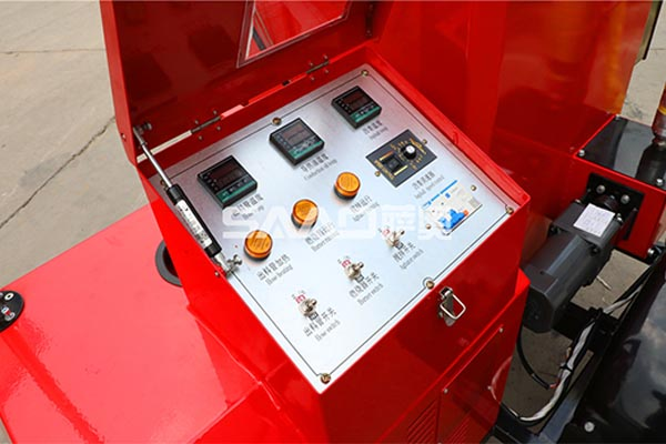 100L搅拌电机沥青灌缝机